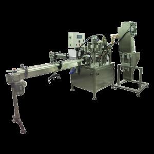 Automatický stroj pro plnění do lahví, sklenici, hrnku