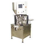 Compact filling machine