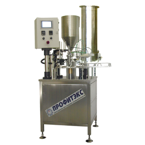 Filling machine for multicomponent product