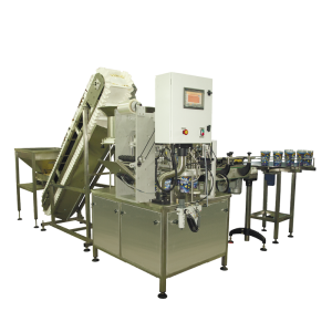 Filling machine for free-flowing product