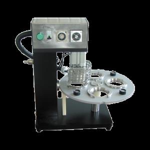 Poloautomaticka stolní svařovací stanice pro plastové kelímky