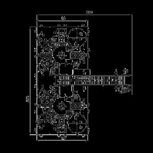 Automat dvouřadé-dvoukolotočový pro plnění do plastových kelímků