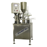 Filling machine for aluminium containers (steralcon)