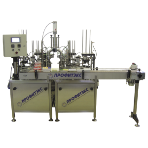 Two-modular rotary filling machine