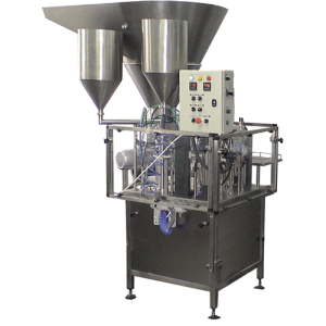 Cottage cheese filling machine