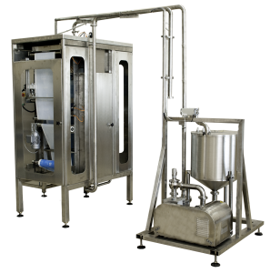 Vertical form fill seal machines for pouches